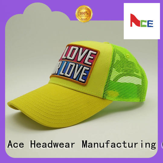 ACE latest classic trucker cap buy now for fashion