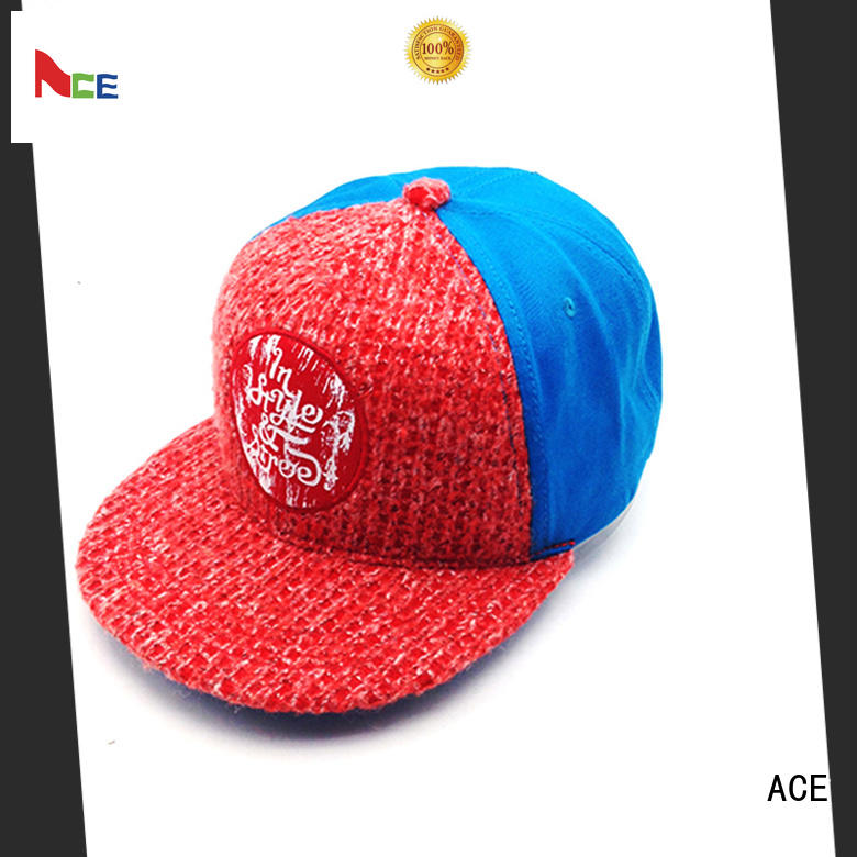 plain design your own snapback hat customization for beauty ACE