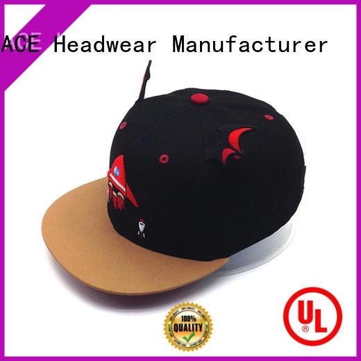 custom snapback caps print for fashion ACE
