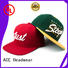 ACE durable womens snapback hats crocodile for beauty