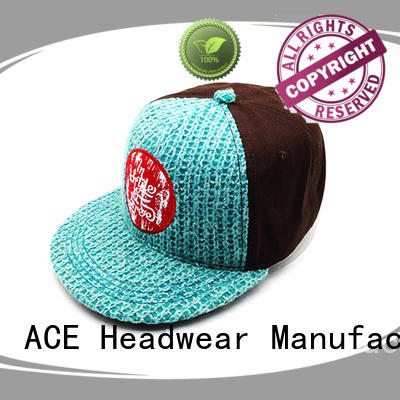 ACE pu cool snapback caps buy now for beauty