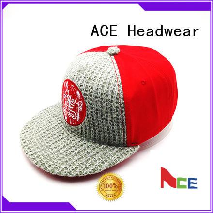 print custom snapback hats wholesale color for beauty ACE