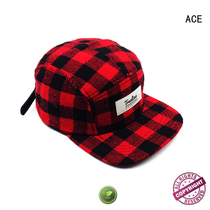 ACE floral cool snapback caps bulk production for fashion