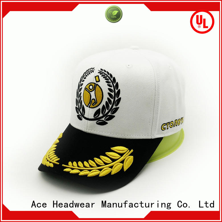 ACE cotton fashion baseball caps supplier for fashion