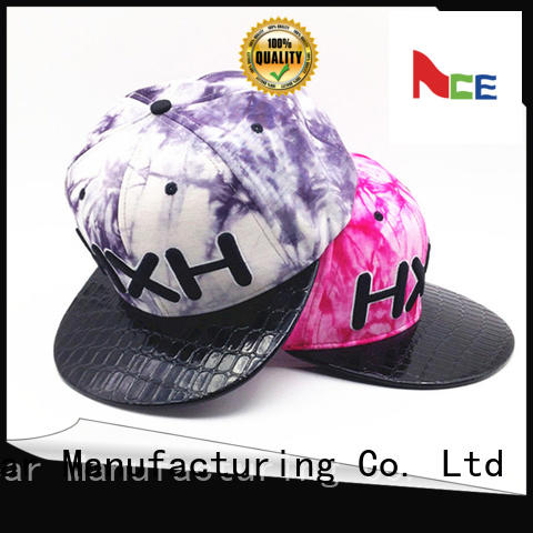 ACE tiger mens black snapback hats for wholesale for beauty
