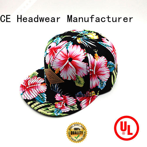 ACE solid mesh custom snapback hats ODM for fashion