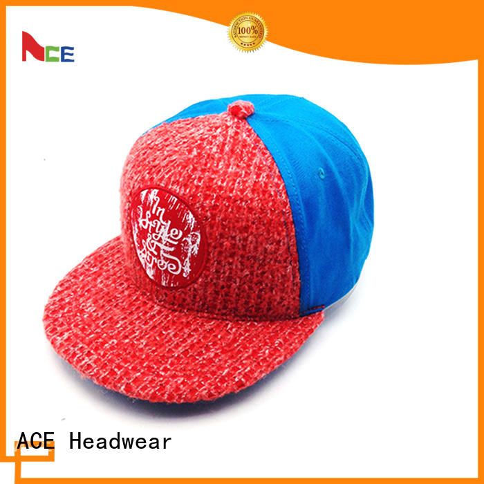 ACE stylish snapback hat get quote for fashion