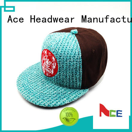 logo snapback caps wholesale selling for beauty ACE
