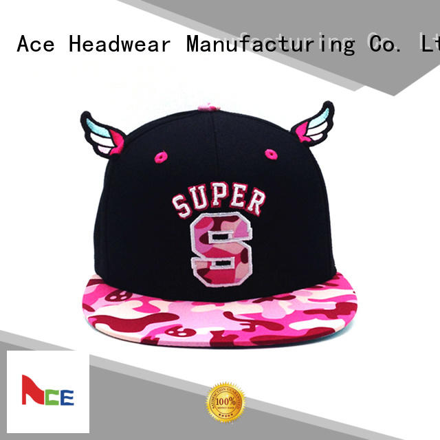ACE green blue snapback hat supplier for beauty