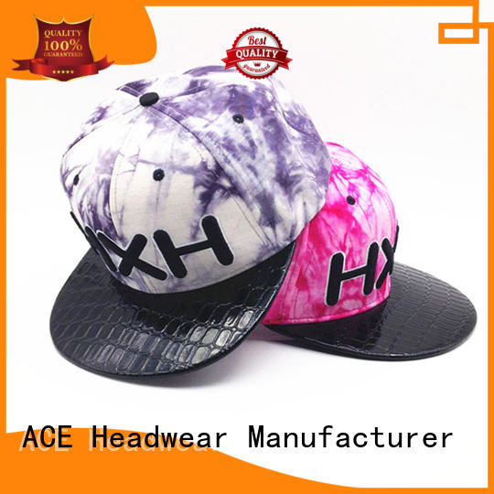ACE at discount best snapback hats bulk production for beauty