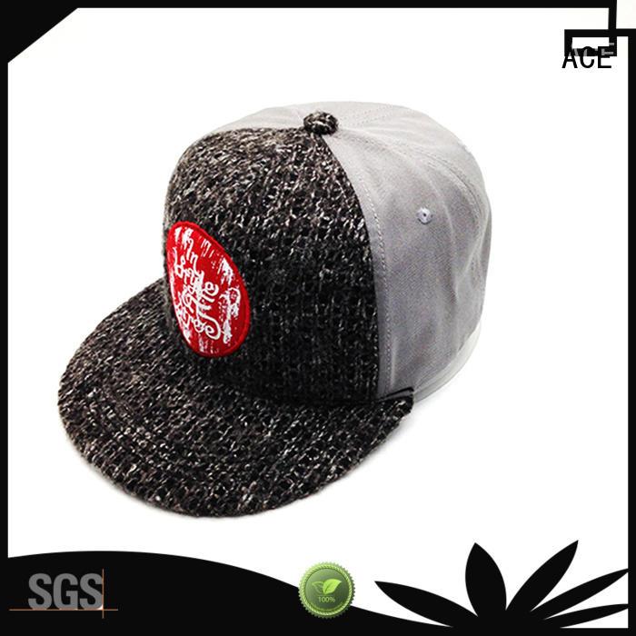 Breathable best snapback hats decoration customization for fashion